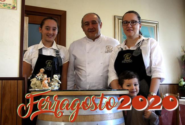 FERRAGOSTO 2020 RISTORANTE PARADISO CANEVINO